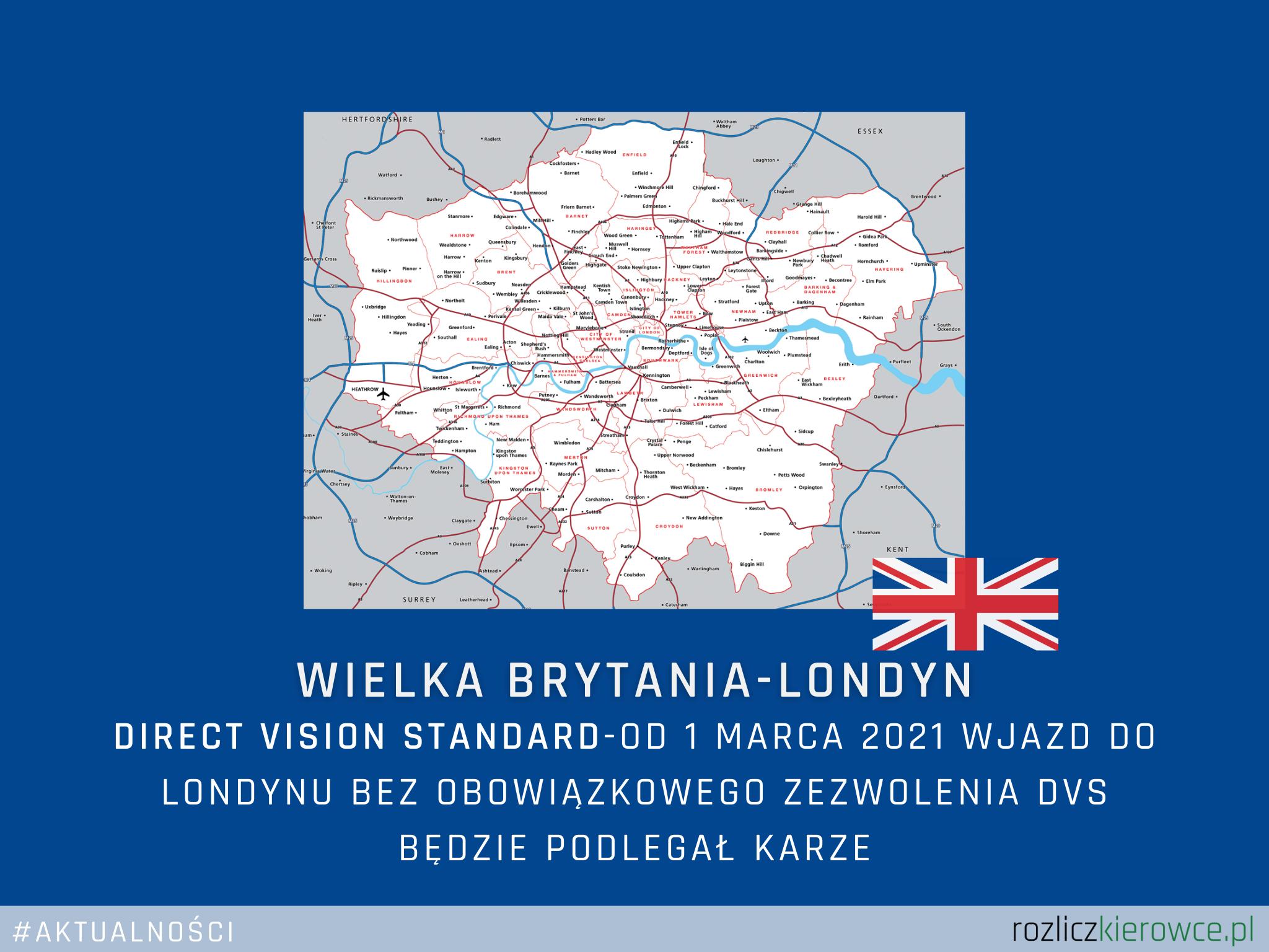 🚛🇬🇧 Wielka Brytania-Londyn